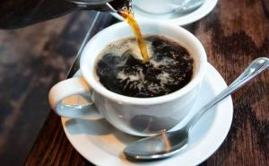 A strong Coffee Helps to Lose Fat