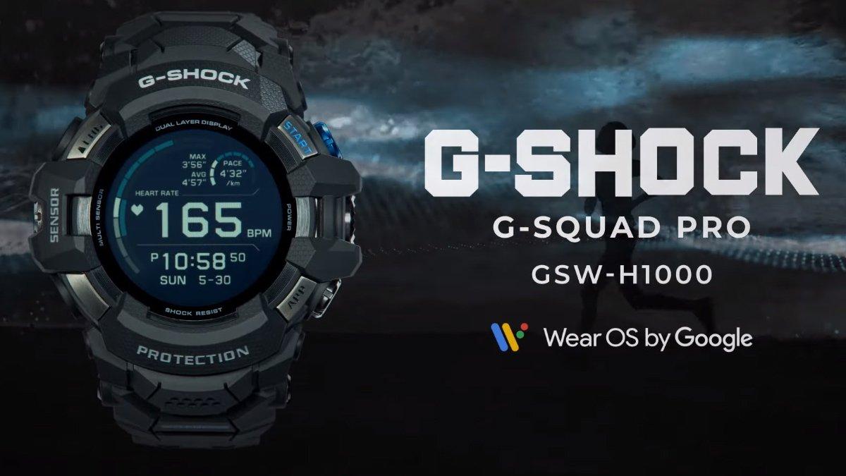 Casio Unveils G-Shock Smartwatch Powered by WearOS