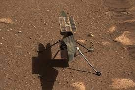 NASA's Ingenuity Rover Sets New Speed Record in Third Flight
